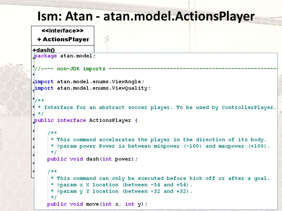 Ism: Atan - atan.model.ActionsPlayer