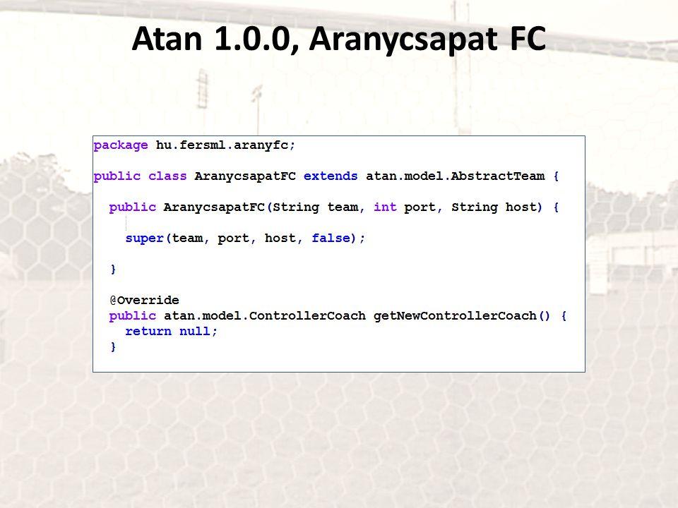 Atan 1.0.0, Aranycsapat FC