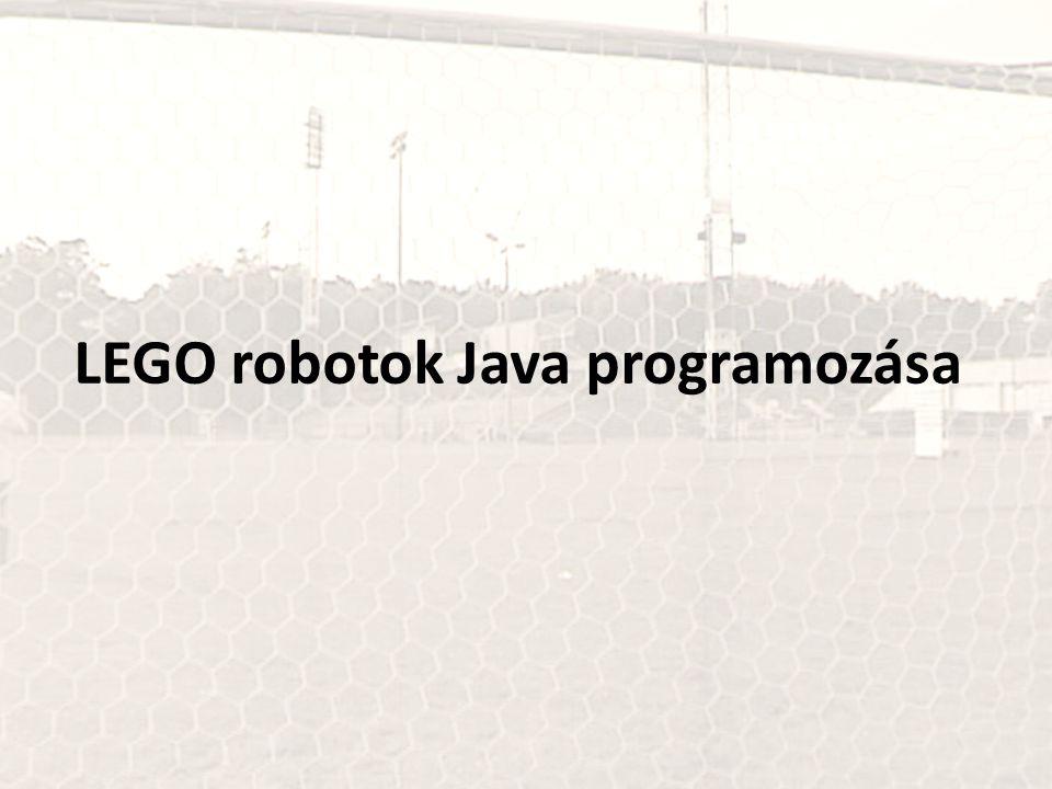 LEGO robotok Java programozása