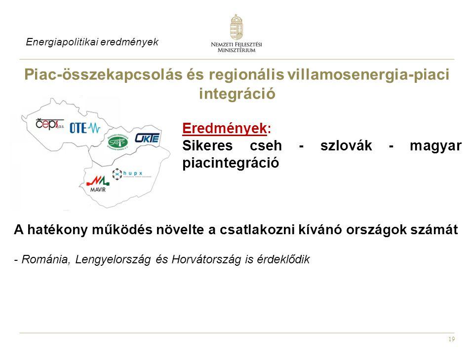 Piac-összekapcsolás és regionális villamosenergia-piaci integráció