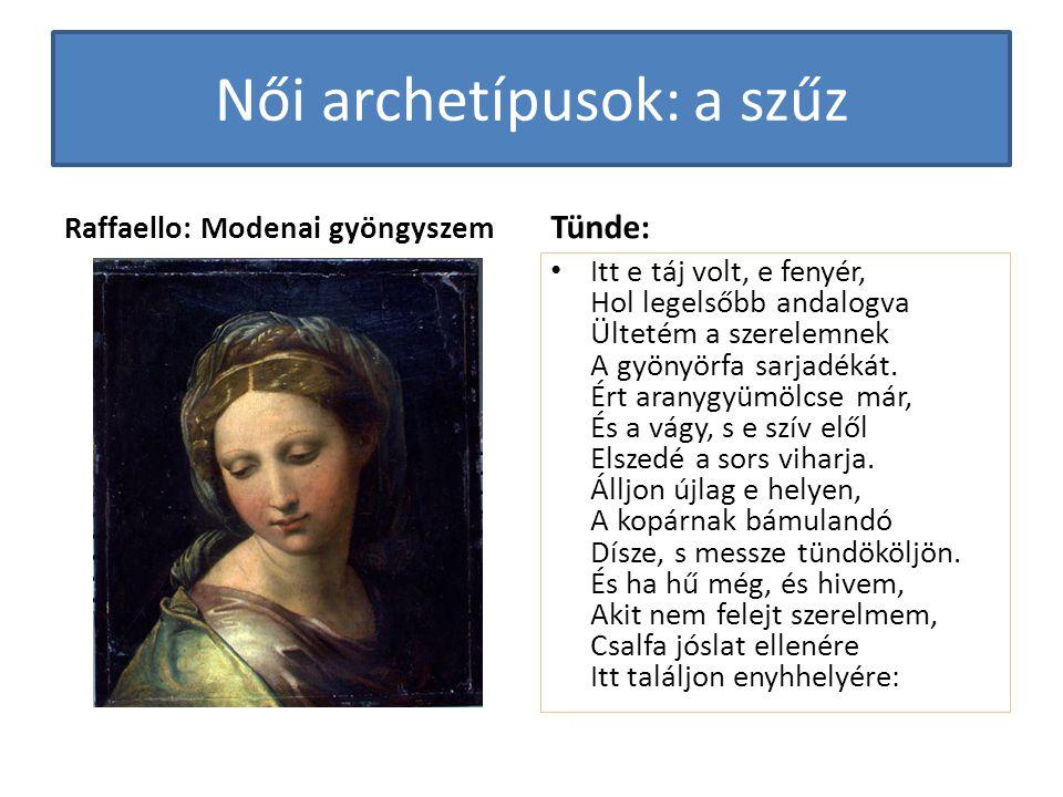 Női archetípusok: a szűz