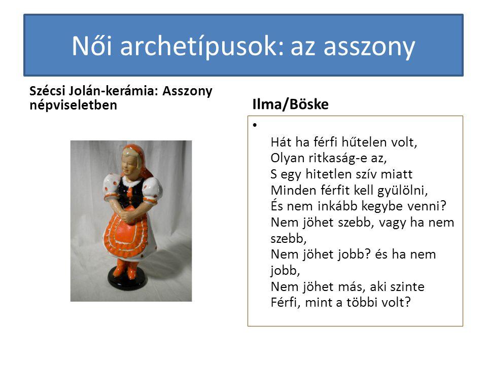 Női archetípusok: az asszony