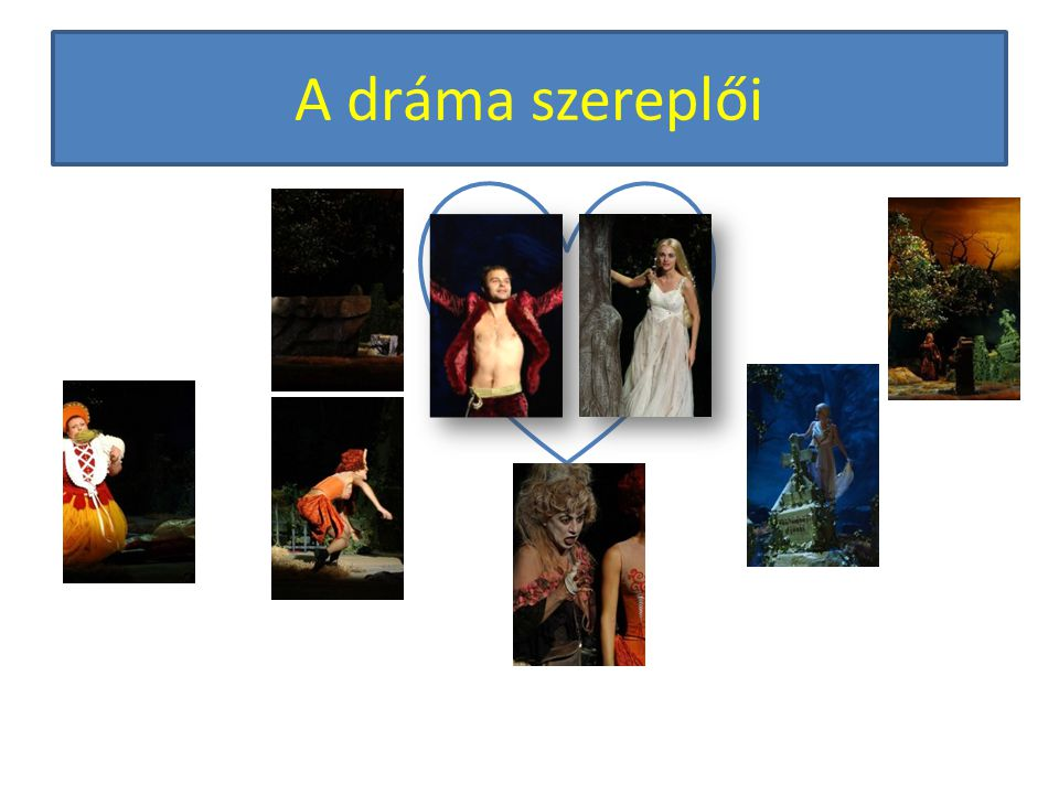 A dráma szereplői