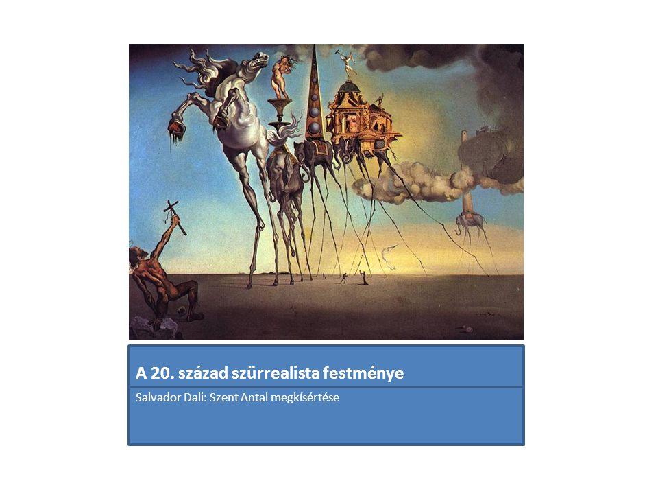 A 20. század szürrealista festménye