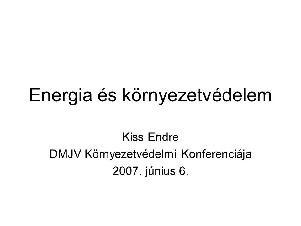 Energia és környezetvédelem