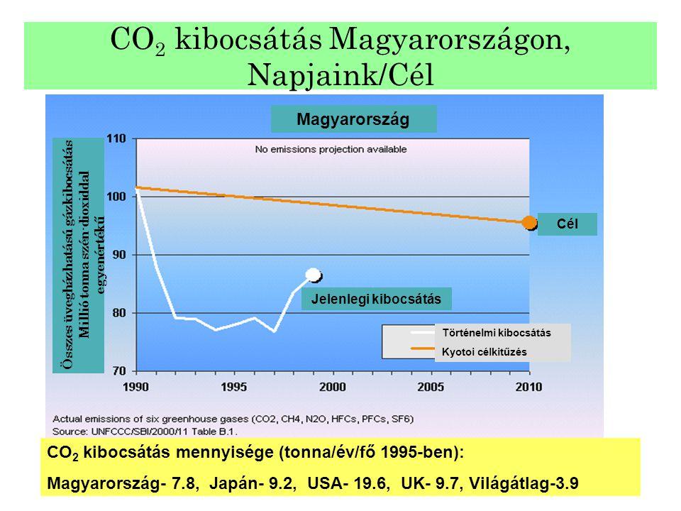 CO2 kibocsátás Magyarországon, Napjaink/Cél