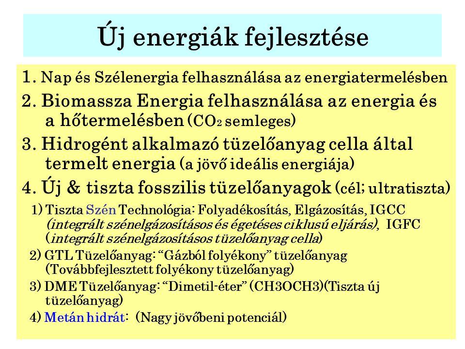 Új energiák fejlesztése