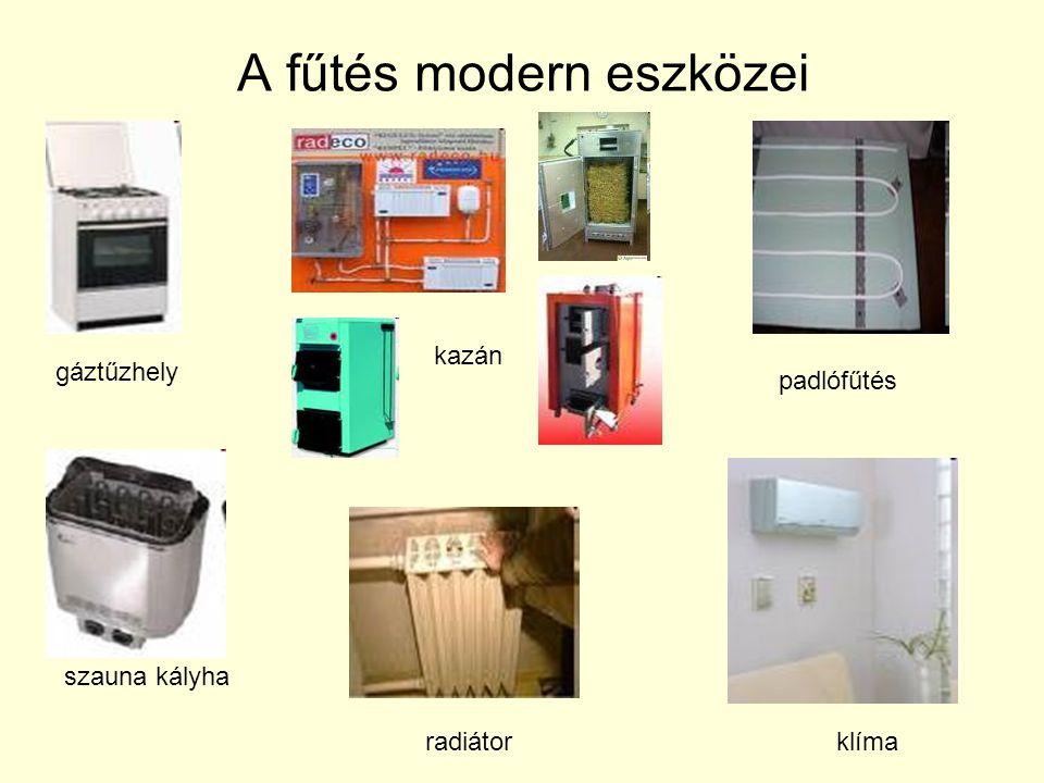 A fűtés modern eszközei
