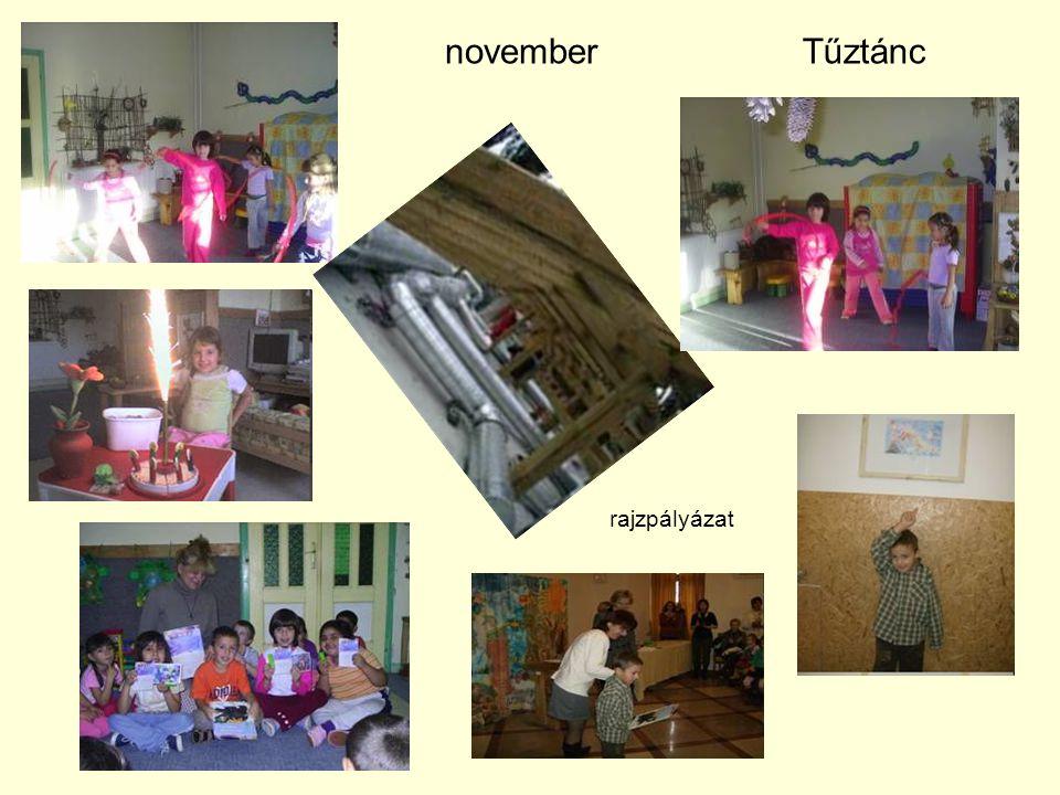 november Tűztánc rajzpályázat
