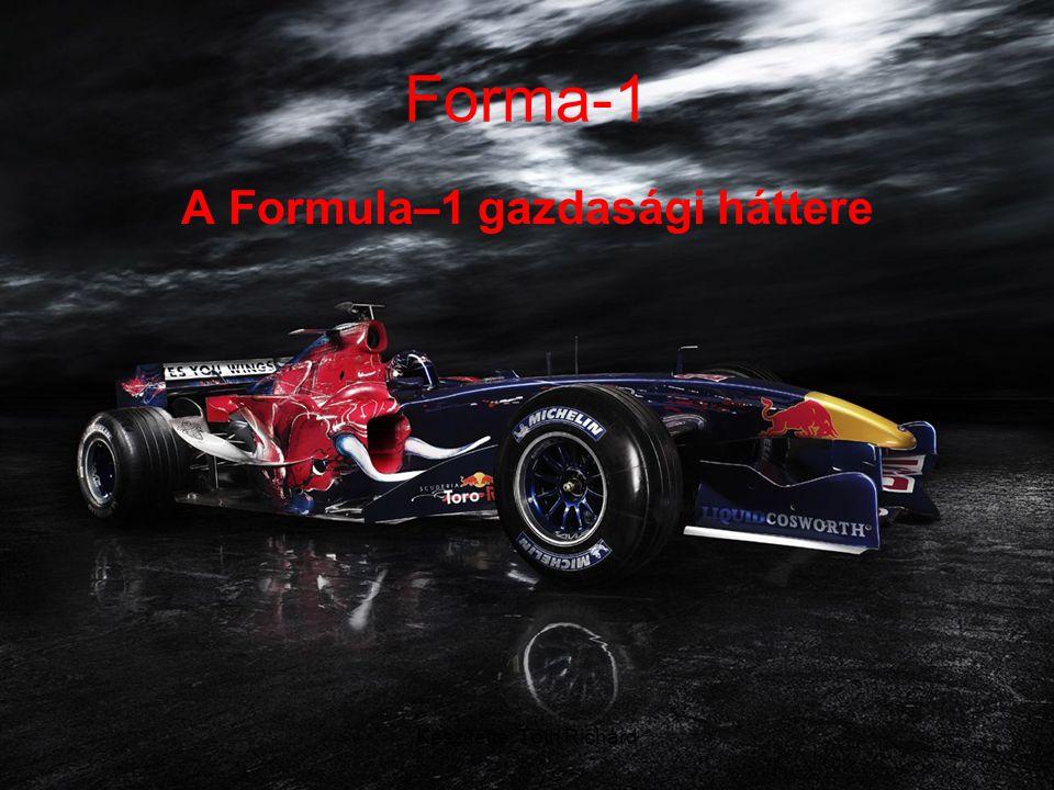 A Formula–1 gazdasági háttere