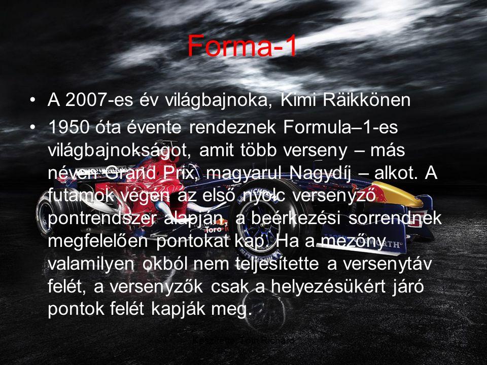 Készítette: Tóth Richárd