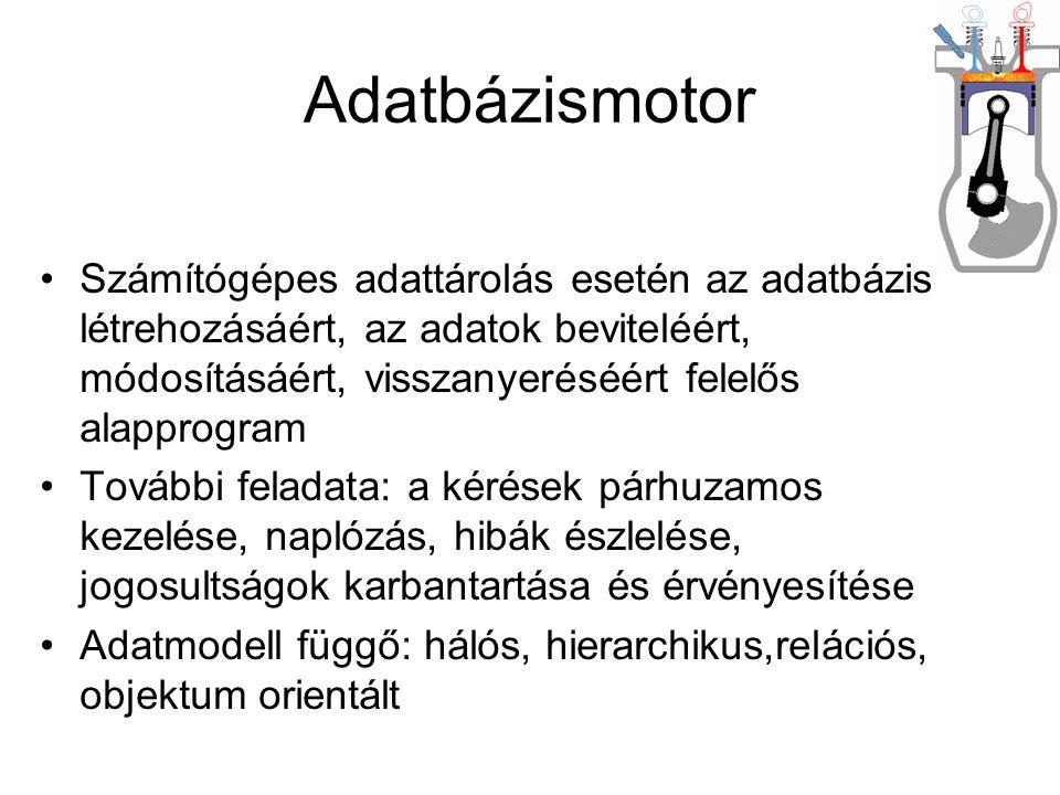 Adatbázismotor