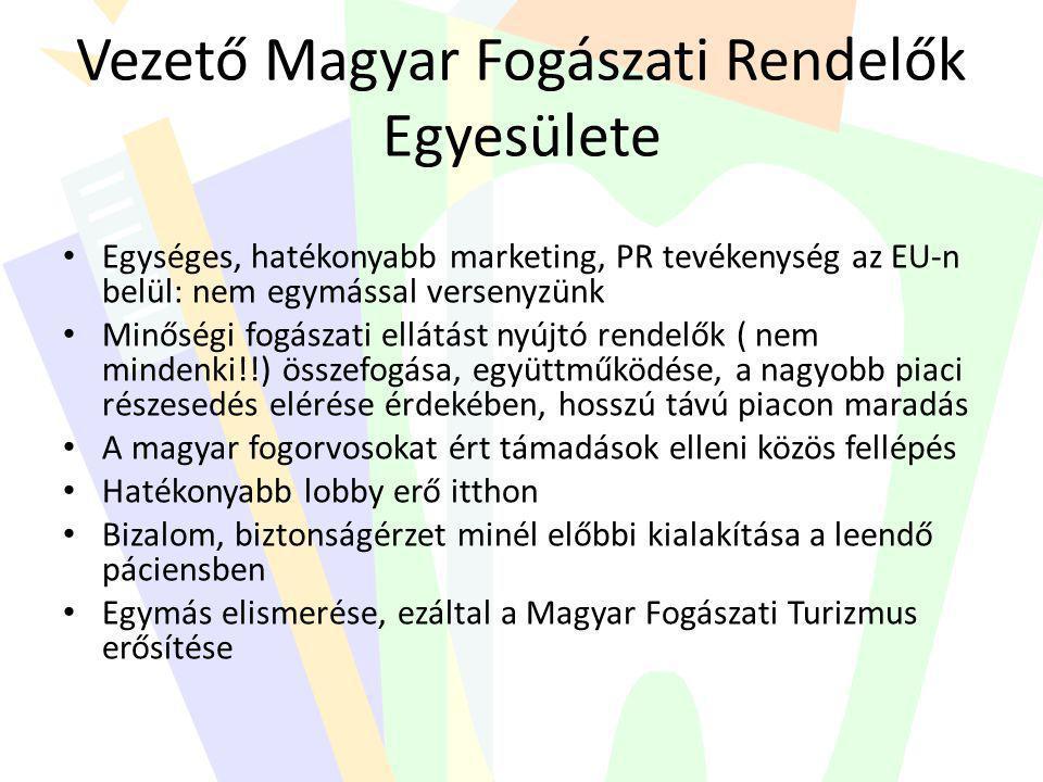 Vezető Magyar Fogászati Rendelők Egyesülete