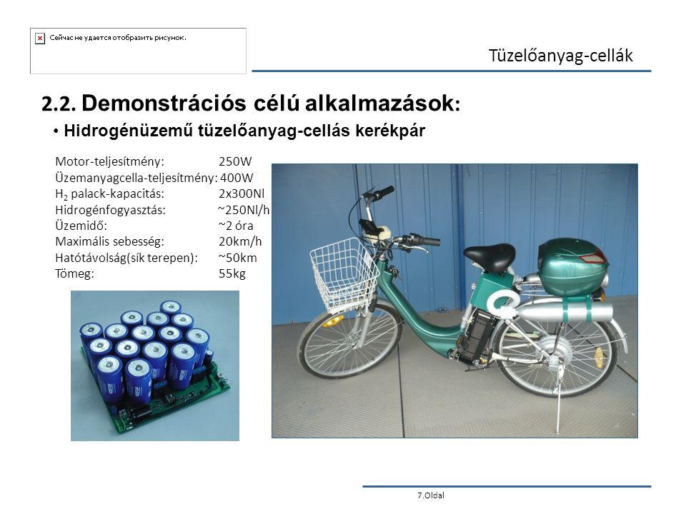2.2. Demonstrációs célú alkalmazások: