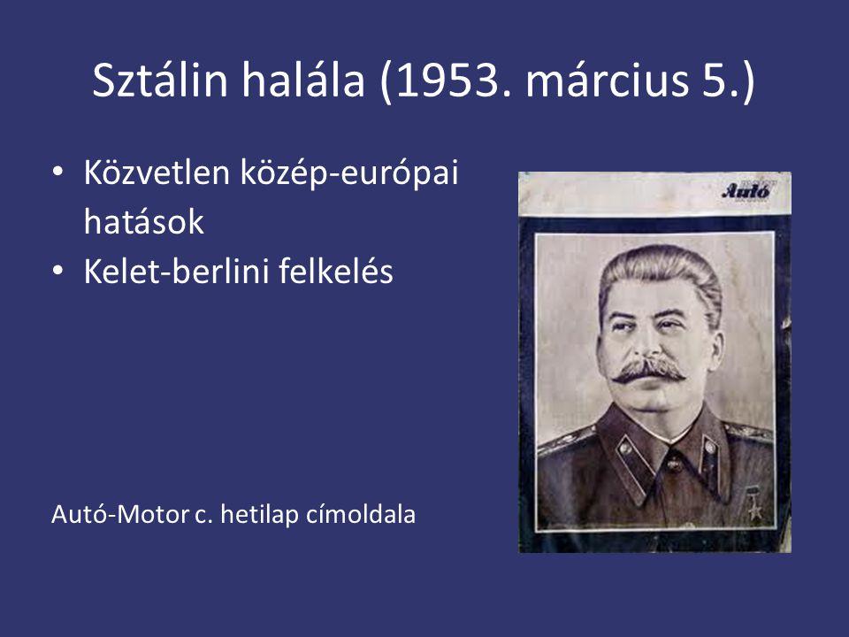 Sztálin halála (1953. március 5.)