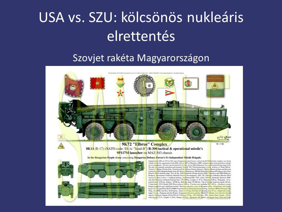 USA vs. SZU: kölcsönös nukleáris elrettentés