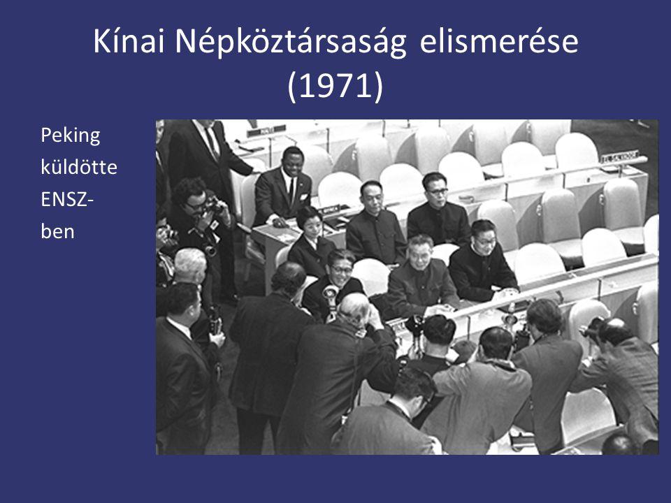 Kínai Népköztársaság elismerése (1971)