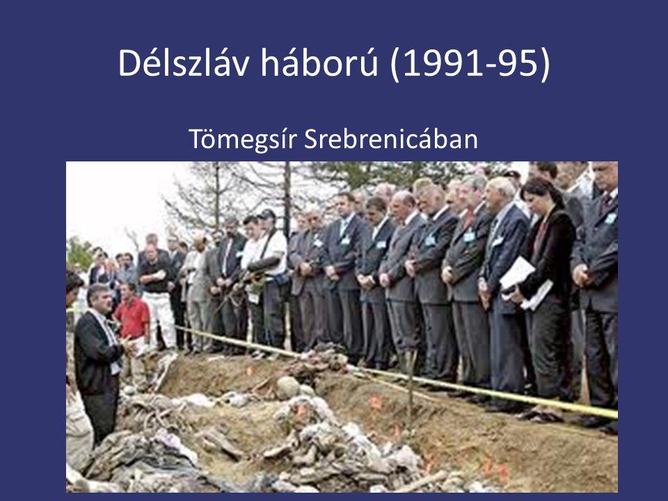 Tömegsír Srebrenicában