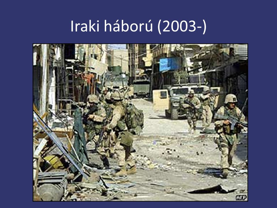 Iraki háború (2003-)