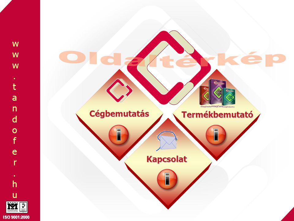 Oldaltérkép Cégbemutatás Termékbemutató Kapcsolat