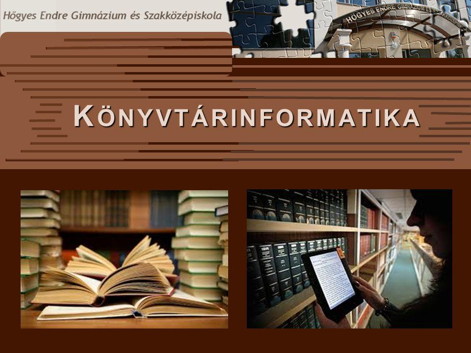 Könyvtárinformatika