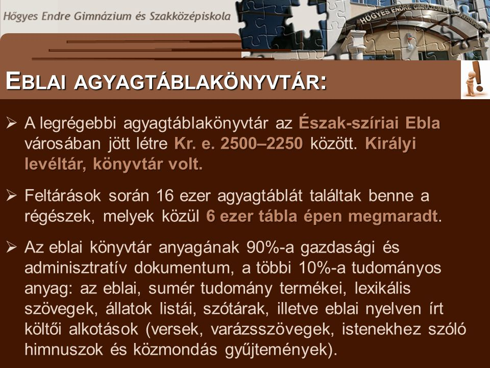 Eblai agyagtáblakönyvtár: