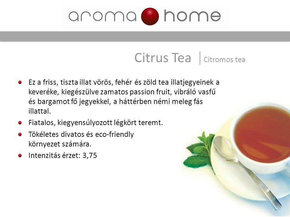 Citrus Tea Citromos tea