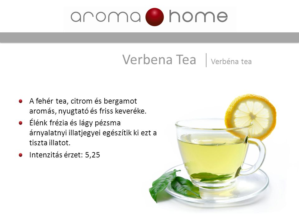 Verbena Tea Verbéna tea