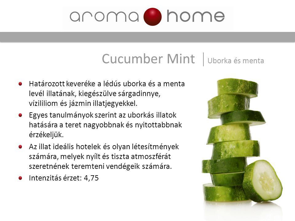 Cucumber Mint Uborka és menta