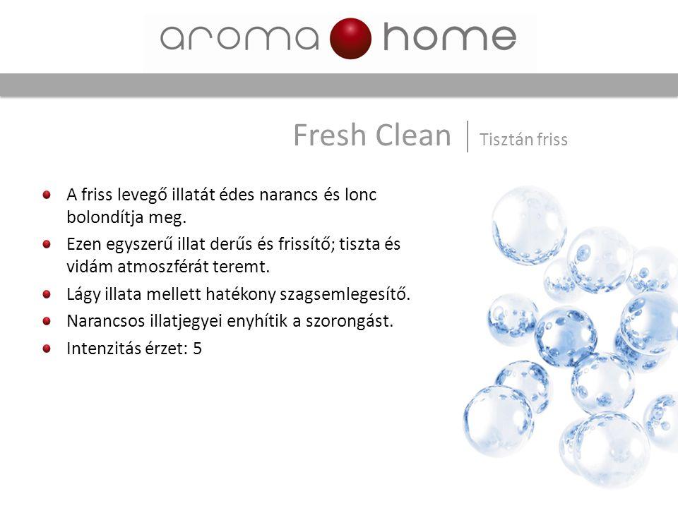 Fresh Clean Tisztán friss