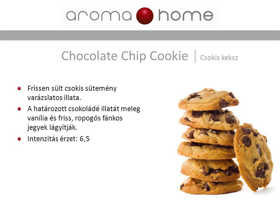 Chocolate Chip Cookie Csokis keksz