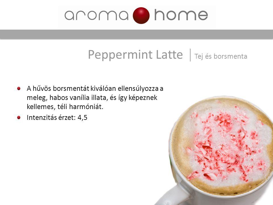 Peppermint Latte Tej és borsmenta