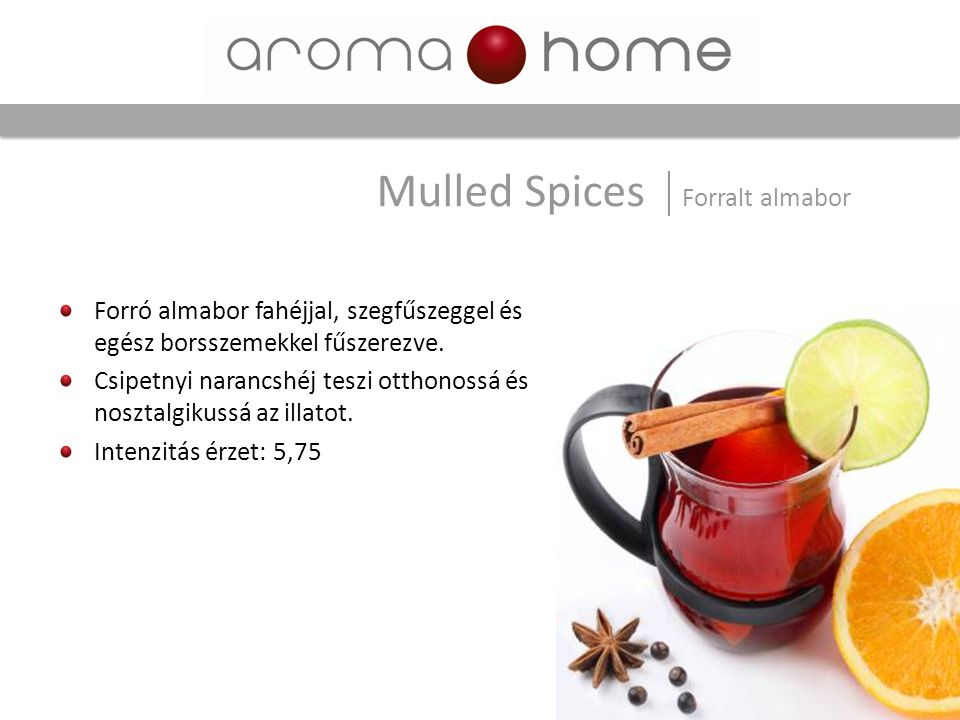Mulled Spices Forralt almabor