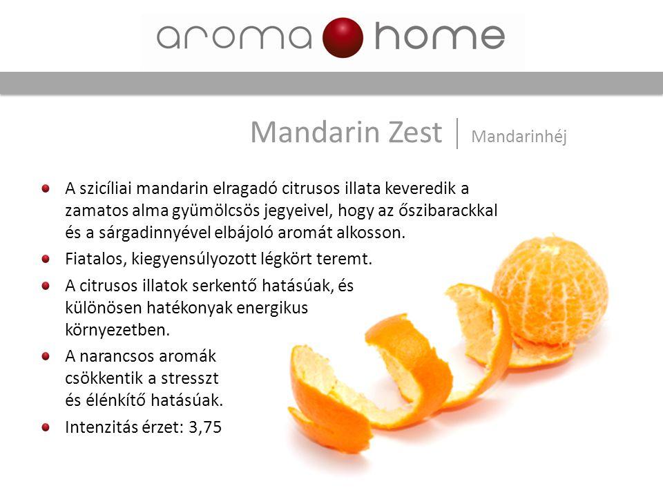Mandarin Zest Mandarinhéj