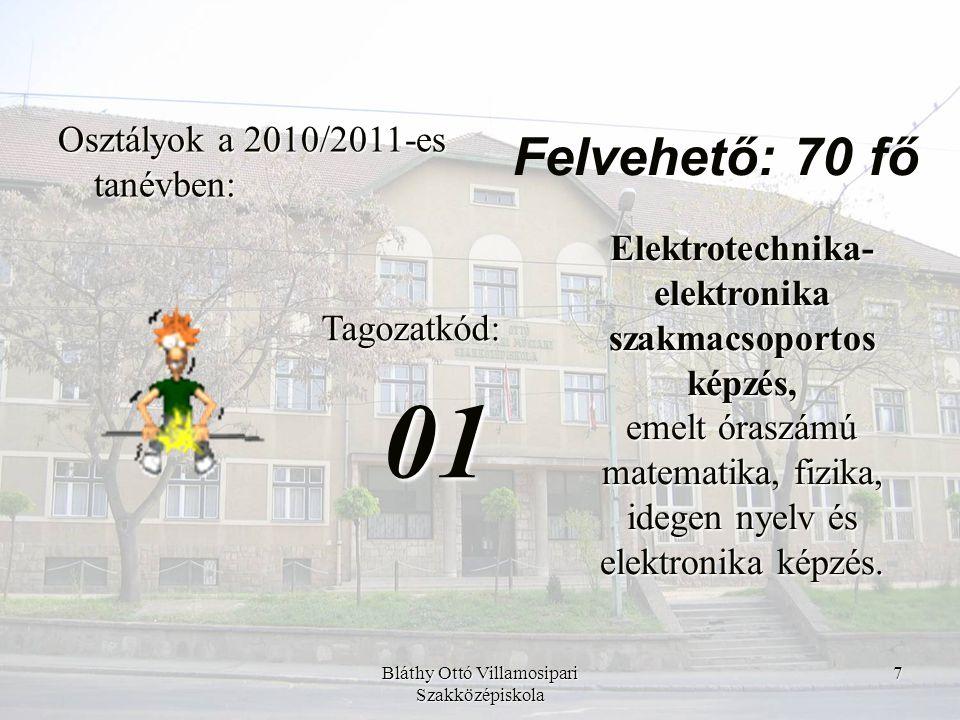 Bláthy Ottó Villamosipari Szakközépiskola