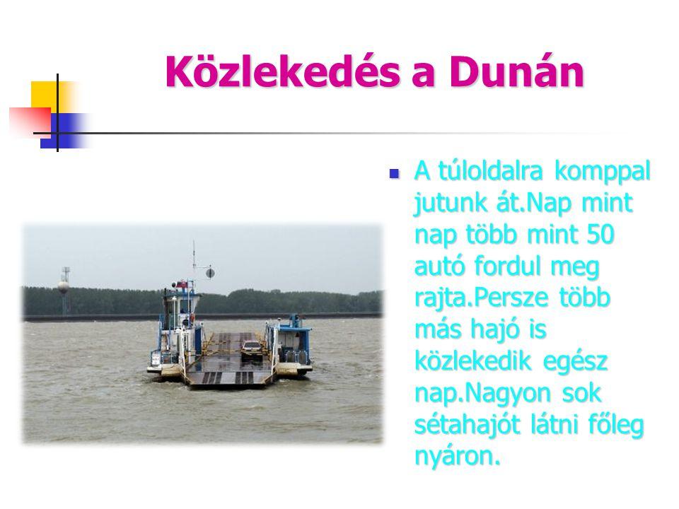 Közlekedés a Dunán