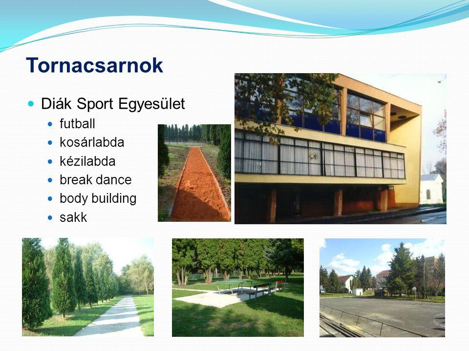Tornacsarnok Diák Sport Egyesület futball kosárlabda kézilabda