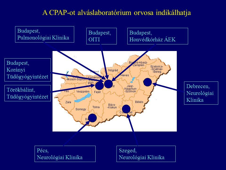 A CPAP-ot alváslaboratórium orvosa indikálhatja