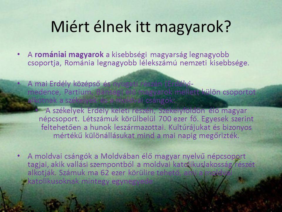 Miért élnek itt magyarok