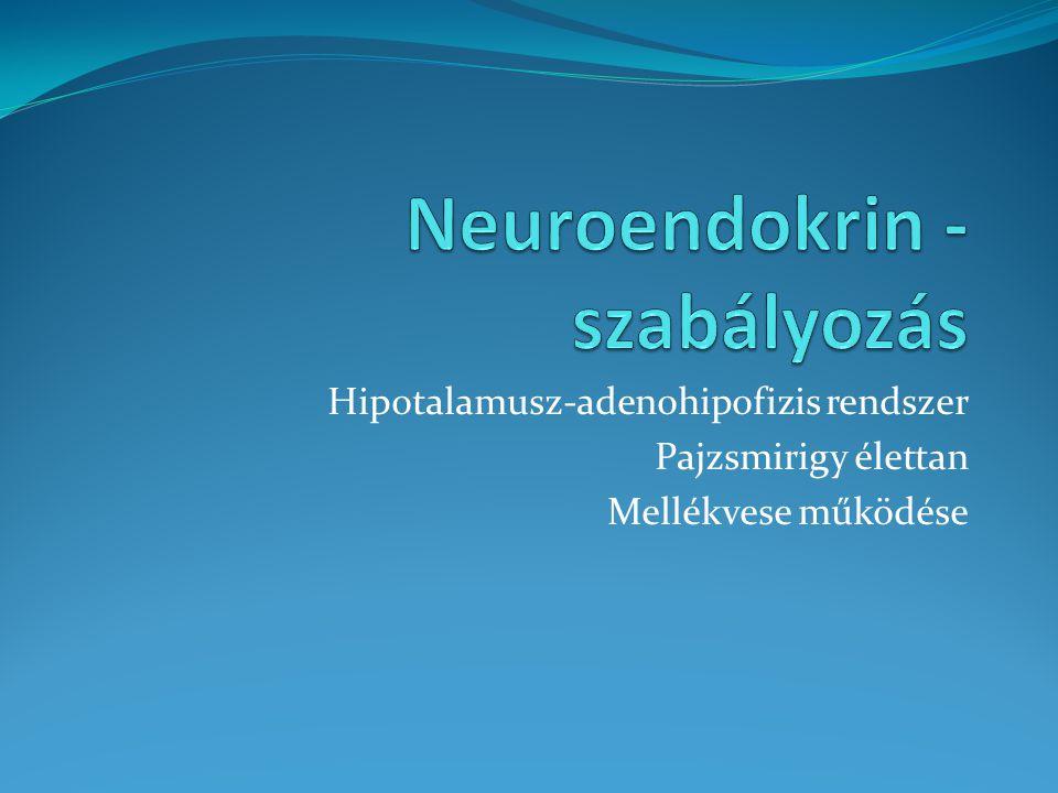 Neuroendokrin -szabályozás