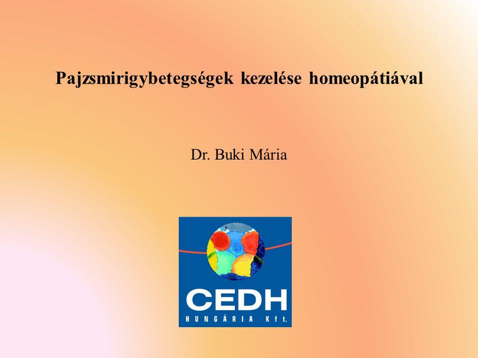 Pajzsmirigybetegségek kezelése homeopátiával
