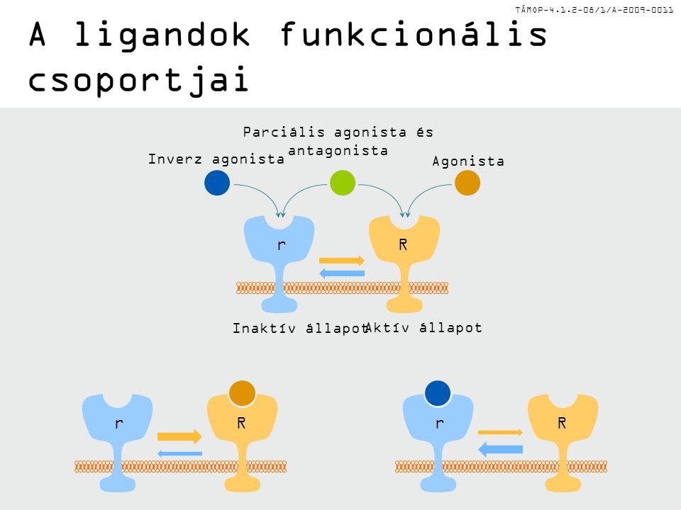 A ligandok funkcionális csoportjai