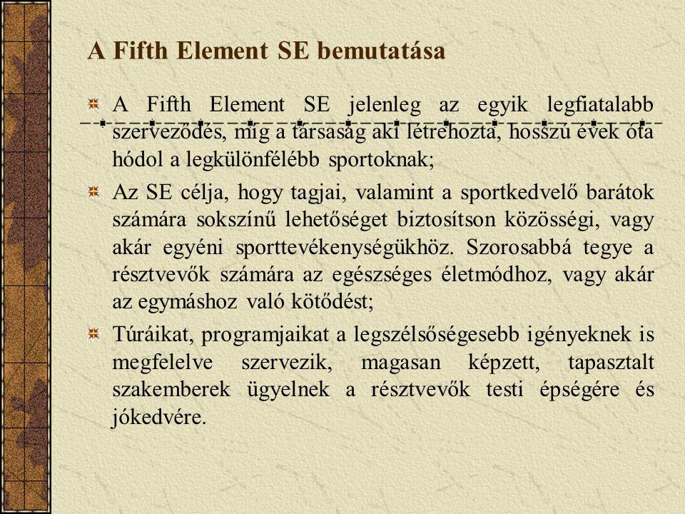 A Fifth Element SE bemutatása