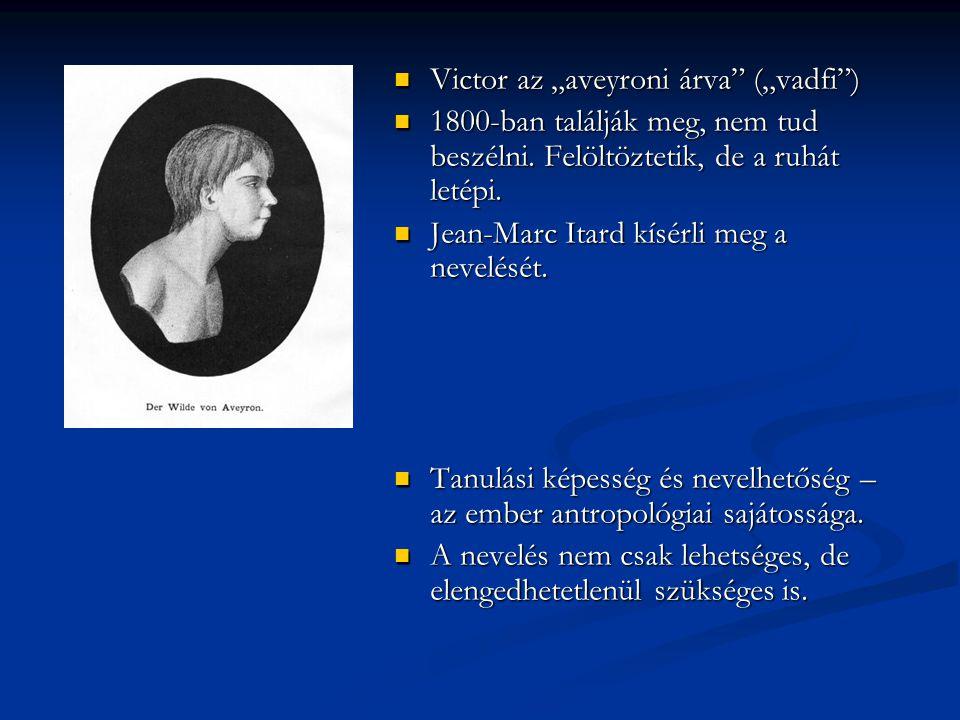 """Victor az """"aveyroni árva (""""vadfi )"""