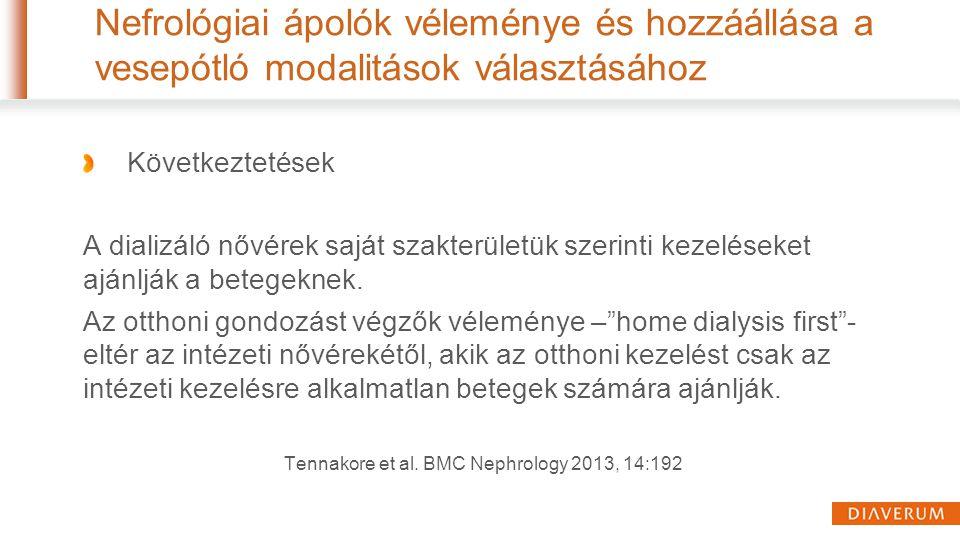 Tennakore et al. BMC Nephrology 2013, 14:192