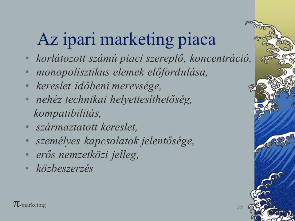 Az ipari marketing piaca