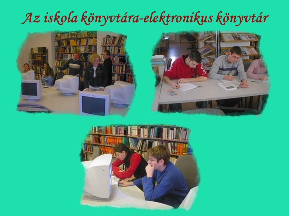 Az iskola könyvtára-elektronikus könyvtár