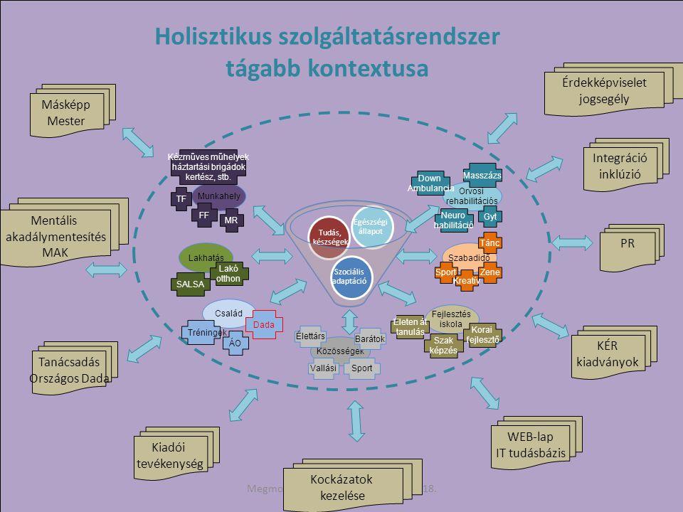 Holisztikus szolgáltatásrendszer tágabb kontextusa