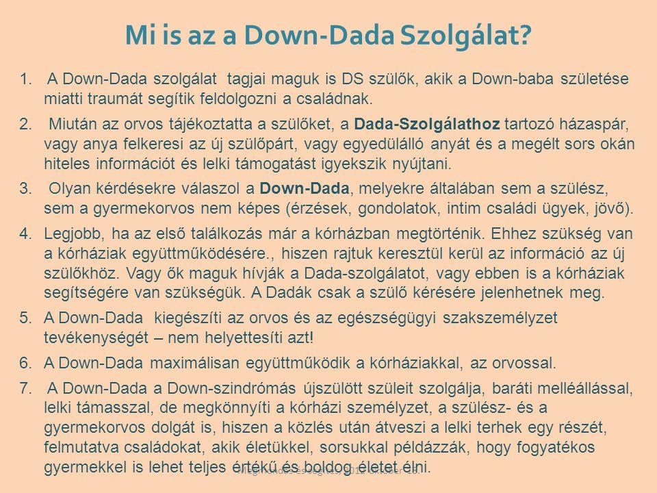 Mi is az a Down-Dada Szolgálat