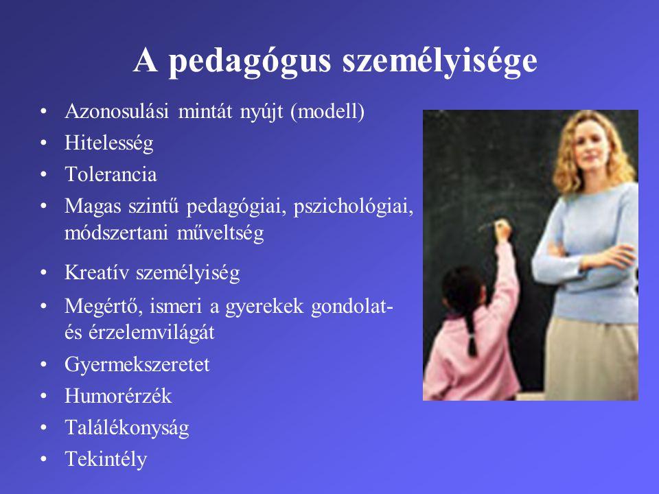 A pedagógus személyisége